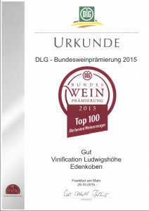 TOP 100 Vinification Ludwigshöhe